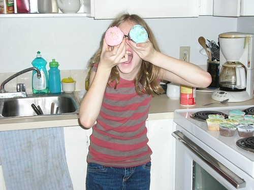 Silly Cupcake Girl