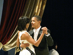 Barack & Michelle Obama (DaveMN) Tags: dance inauguration barackobama inauguralball michelleobama presidentobama sx110is