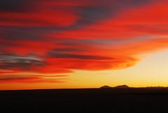 Twin Peak Sky (Wavy1) Tags: sunset sky mountains colorado rocky twin southern peaks pfogold pfosilver