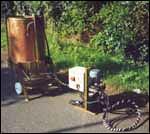 stirring machine for biodynamic agriculture