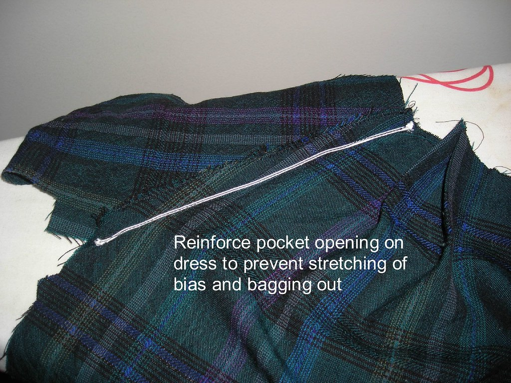 Reinforce Pocket Opening