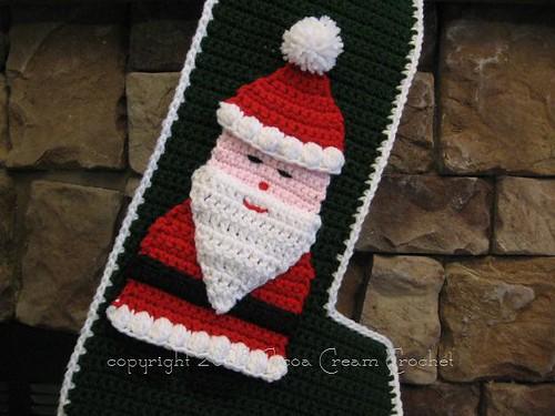 Santa Stocking Just Down Lemon Lane