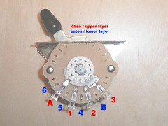 Genuine Fender 5-way Switch (2 Layers) for Stratocaster guitars