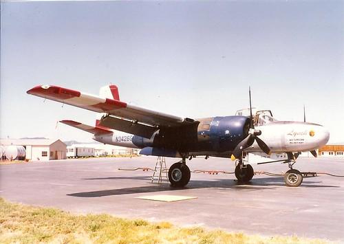 Warbird picture - Douglas B-26 - Missoula, MT