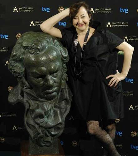Carmen Machi en la presentación de la gala de los Goya
