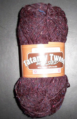 Tatamy Tweed Worsted - Merlot