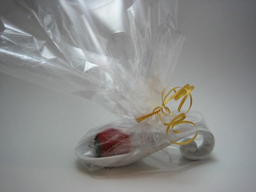 wrapped strawberry