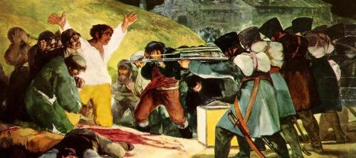 El tres de mayo de 1808 en Madrid o Los fusilamientos en la montaña del Príncipe Pío de Goya