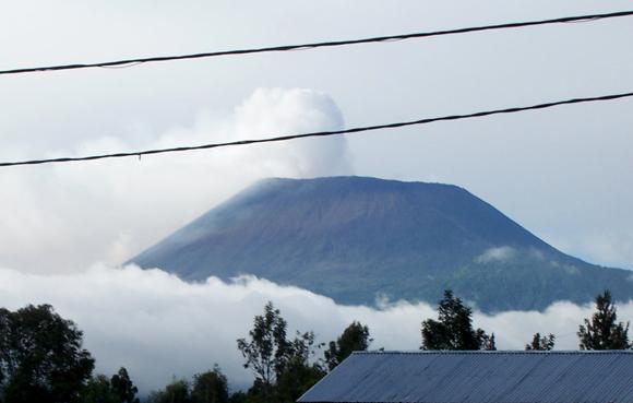 Le Nyiragongo à Goma