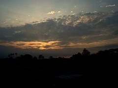Sunset kampung (MaDCirCle) Tags: sunset silhouette malaysia sunray