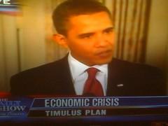 Timulus Plan?