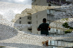 Puddle (servuloh) Tags: pictures street brazil urban reflection praia beach water rain gua espelho brasil canon puddle photography mirror photo reflex interesting pond foto rj pavement mosaic chuva picture ground running scene mosaico powershot sidewalk reflected reflect fotos reflejo urbana rua cho q 1001nights jogging reflexions portuguese cena reflexo niteroi pedras poa portuguesa niteri calada runnin calado g7 charco joggin icarai reflexo espelhodgua portuguesas pedrasportuguesas watermirror dgua portuguesepavement reflectioninapuddle aplusphoto corridinha ringexcellence