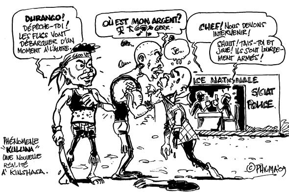 Phénomène Kuluna ou la montée en puissance du grand banditisme à Kinshasa