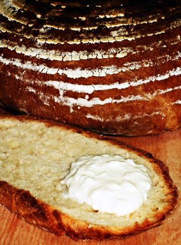 Home Made Ricotta and Whey Bread