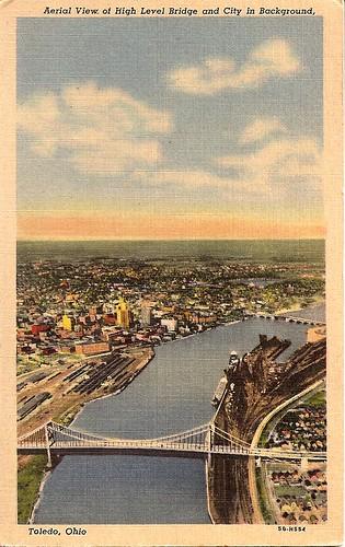 Aerial View of Toledo