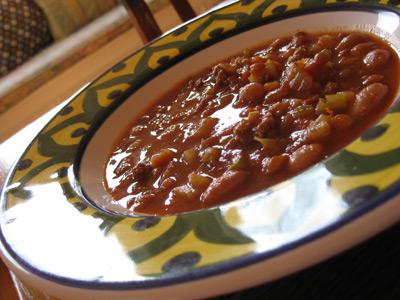 smoky legume soup