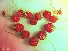 Raspberry Heart