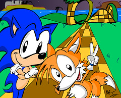 Sonic 2- Sonic and Tails - Ginger C