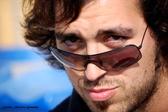 Ismael (Jvr) Tags: portrait people sun sol face sunglasses beard eyes friend expression retrato shades ojos navarro gafas javi bestfriend javier barba gonzlez googles ismael isma february25th javiru