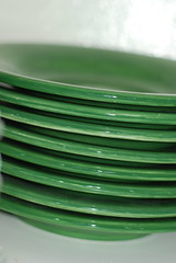 Green dishes 2