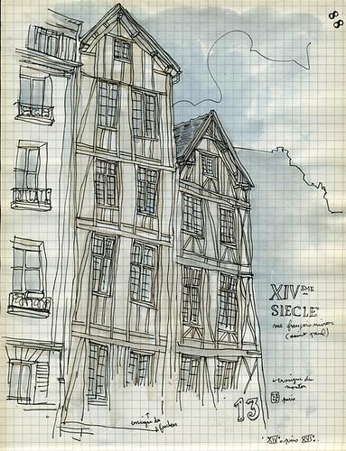 paris - XIVº siécle