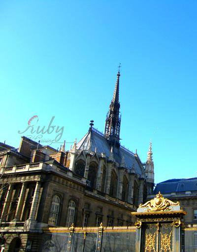 Sainte Chapelle and Palais de Justice