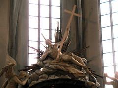 Sexy or lazy Jesus (European Heimlich) Tags: church iglesia kirche kostel templom berlín stmarienkirche heimlich iglesiadestamaría