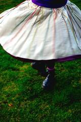 Dance to feel alive. (evilibby) Tags: girl grass garden dance dancing spin skirt twirl spinning libby 365 docs twirling drmartens dms 365days 3652