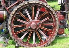 Abstract - Steam Traction Engine Rally, wheel (Monopthalmos) Tags: wheel steamrally tractionengine liskeard stamengine athooper