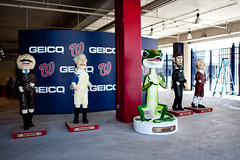 The new racing president bobbleheads at Nationals Park