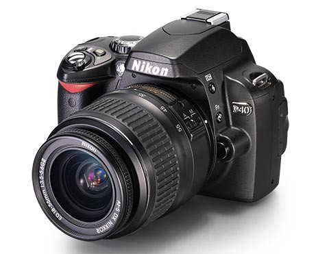 NIKON DSLR D40 - 6.1 MP