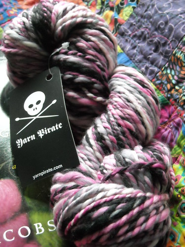 Handspun Pretty Pirate