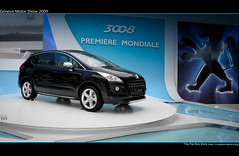 Geneva Motor Show 2009 Peugeot 3008 (flagada51) Tags: show canon geneva sigma motor 1770 2009 peugeot 3008 400d