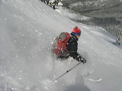 Mirror Lake (shredmaximus) Tags: skiing telemark mounthood skibowl