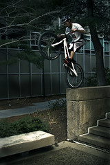 Mike Steidley (Nick Keating) Tags: urban college mike bicycle boston canon campus ma university mit massachusetts nick fox biking trials keating lege engineers 30d steidley