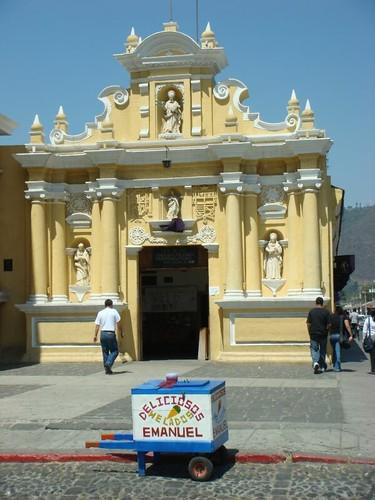 Iglesia de Hermano Pedro, Antigua - Guatemala.