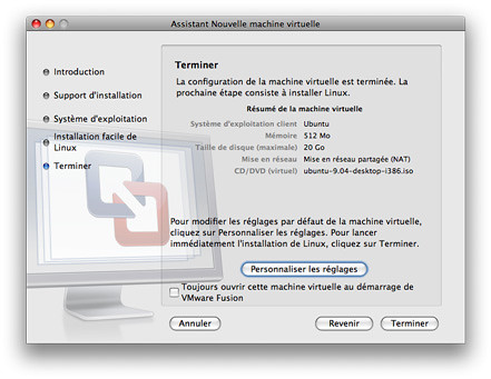 VMware Fusion Ubuntu