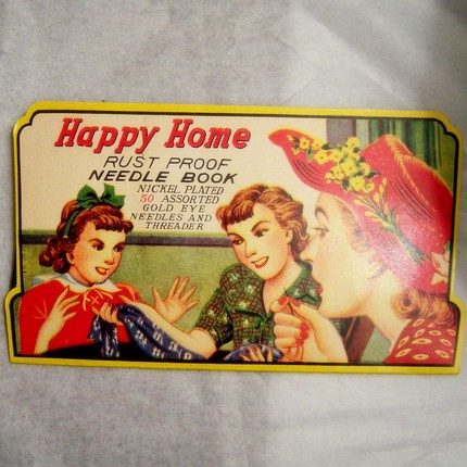 happy home needle book