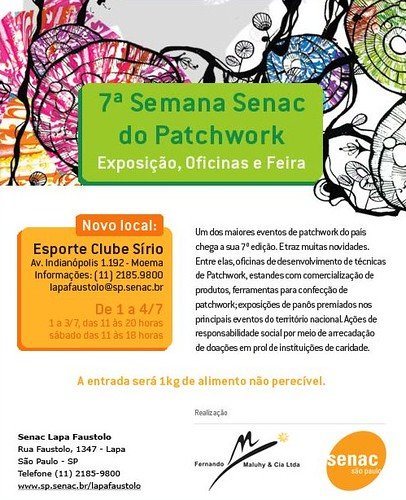 7 Semana Senac do Patchwork