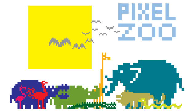 PixelZoo2dingblog