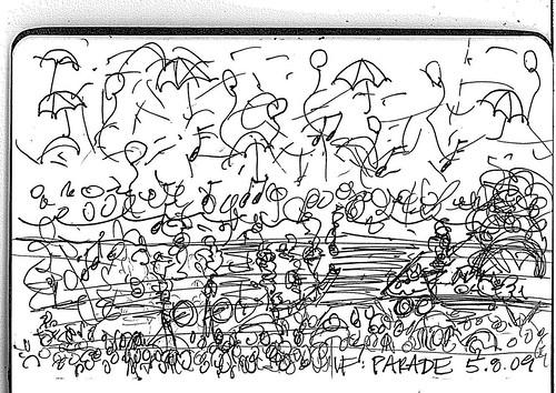 Illustration Friday: Parade