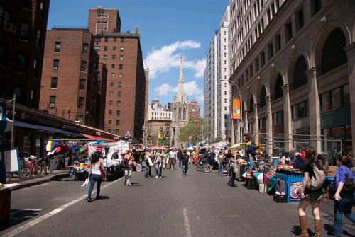 Street fair on 8th Street and Broadway, NYC