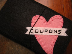 Cute Coupon Holder