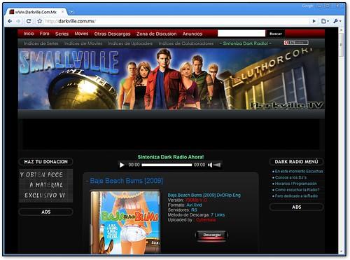 Sin publicidad usando Chrome