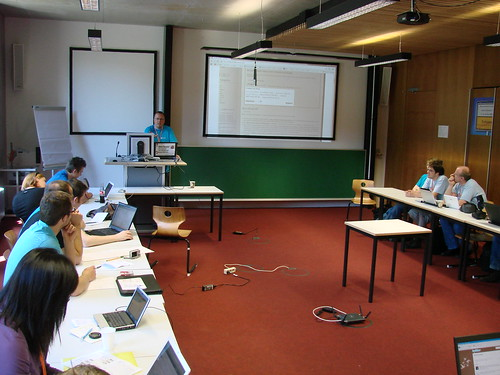 Blogcheck Session