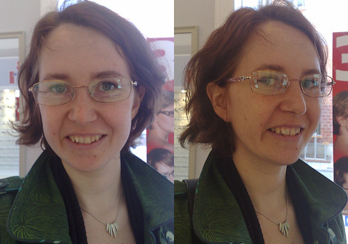 Help me pick my new glasses. These are No 5.