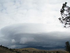 Mountain Clouds (Eve'sNature) Tags: storm mountains nature clouds scenic yellowstonenationalpark wyoming inthemood