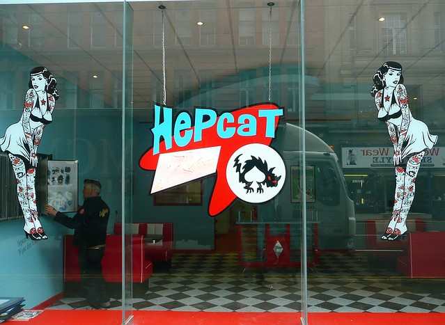 Hepcat tattoo studio (HIGH ST, GLASGOW)