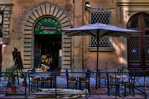 Restaurant 'Baccus' in Firenze