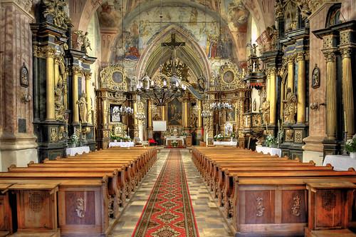 フリー画像| 人工風景| 建造物/建築物| インテリア| 教会/聖堂| HDR画像| ポーランド風景|     フリー素材|